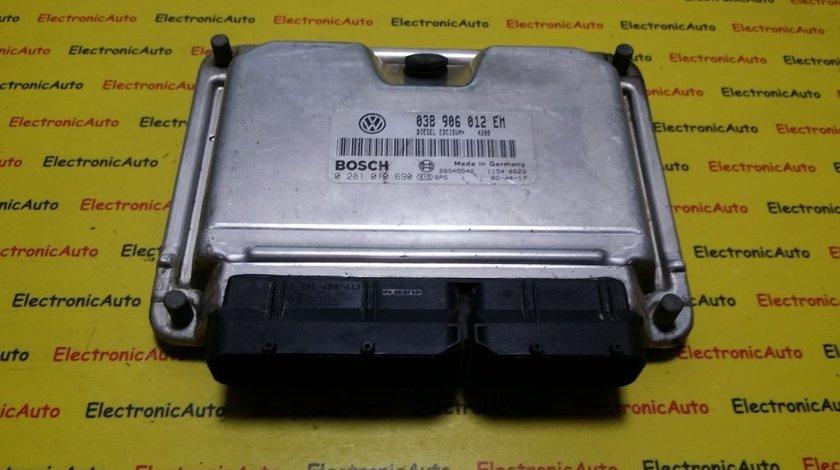 ECU Calculator motor Seat Cordoba 1.9SDI 0281010690, 038906012EM