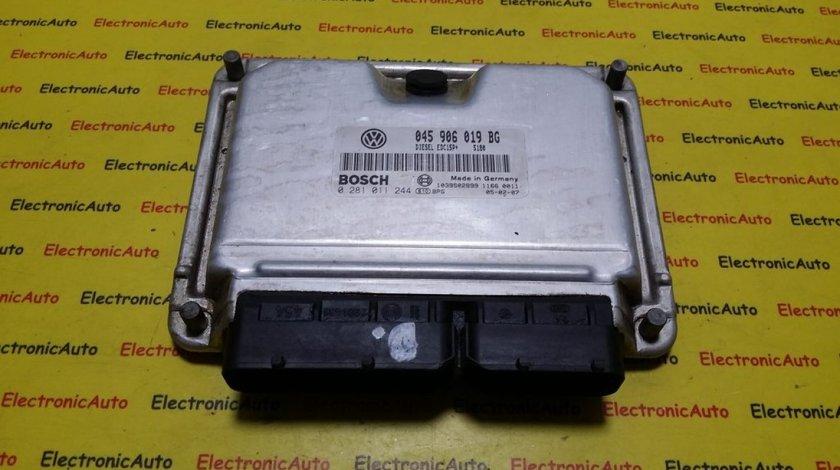 ECU Calculator motor Seat Ibiza 1.4TDI 0281011244, 045906019BG
