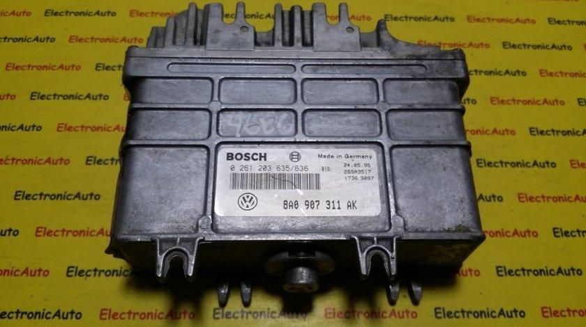 ECU CALCULATOR MOTOR SEAT TOLEDO 1.8 8V 8A0907311AK 0261203635/636
