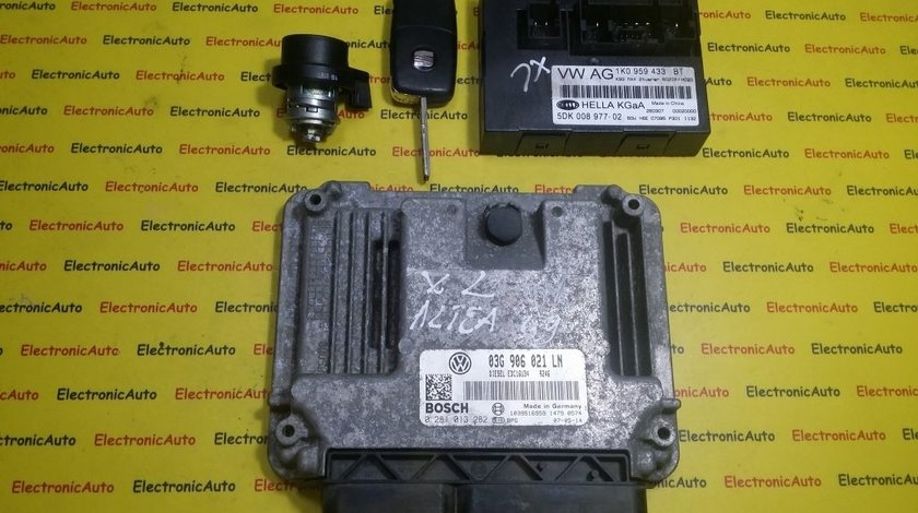 ECU Calculator motor Seat Toledo, Altea 1.9 tdi 0281013282