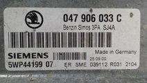 ECU Calculator motor Skoda Fabia 1.4 047906033C, 5...