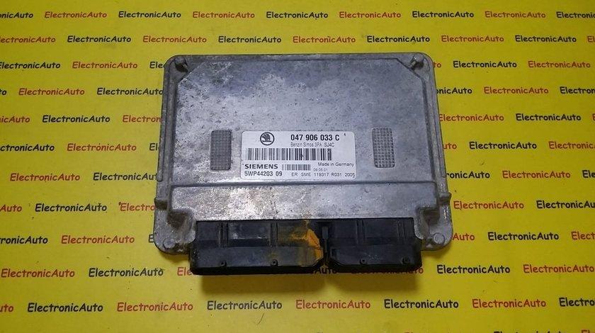 ECU Calculator motor Skoda Fabia 1.4 047906033C, 5WP4420309