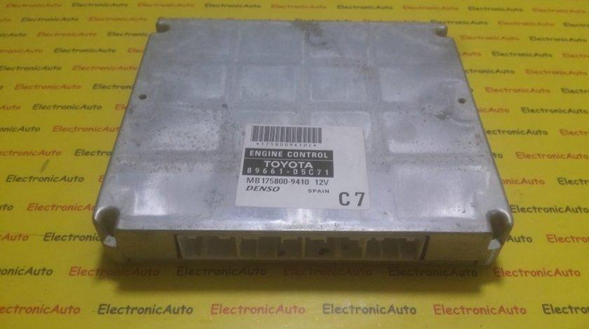 ECU Calculator motor Toyota Avensis 2.2 8966105C71, MB1758009410