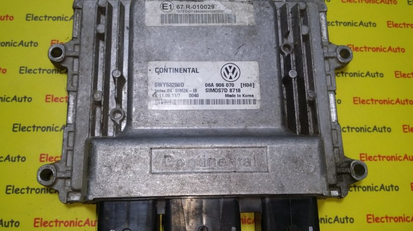 ECU Calculator motor VAG 06A906070, 5WY53250D