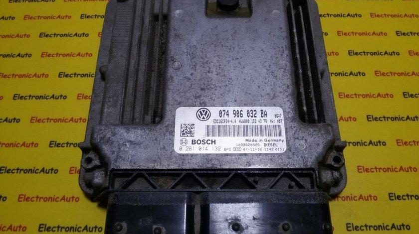 ECU Calculator motor VW Crafter 2.5TDI 0281014132, 074906032BA