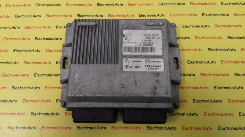 ECU Calculator Motor Vw Golf 1.6 GPL, 616662000, 67R016002