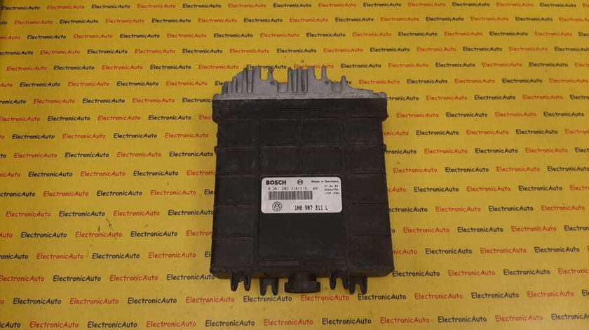 ECU Calculator motor VW Golf 3 0261203318/319, 1H0907311L