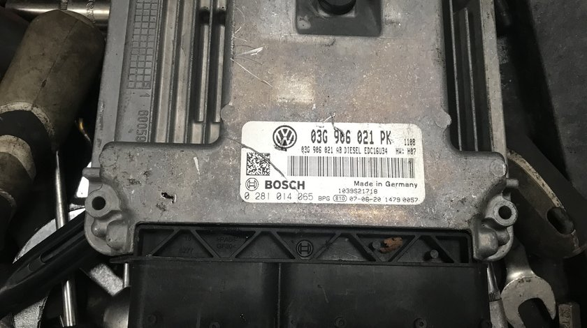 Ecu Calculator motor Vw Golf 5 1.9 TDI BLS 2007 2008 2009