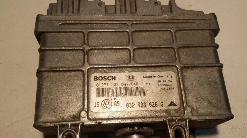 ECU Calculator motor VW Golf3 1.6 032906026G 0261203647/648