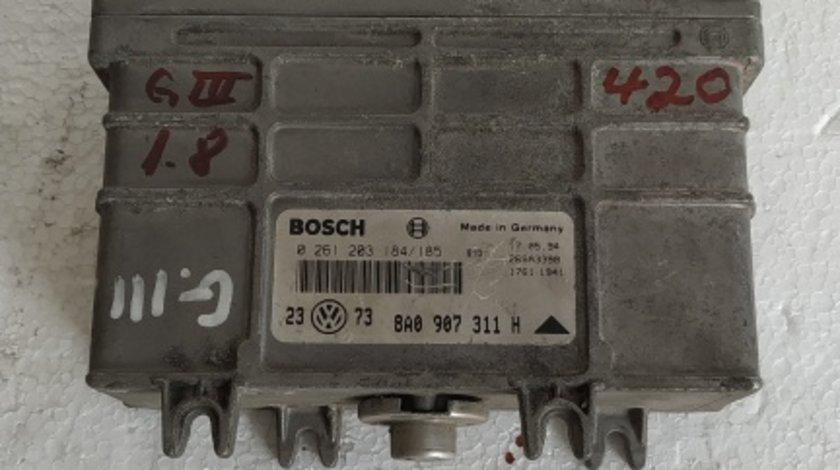 ECU Calculator motor VW Golf3 1.8 cod 0261203184/185 .
