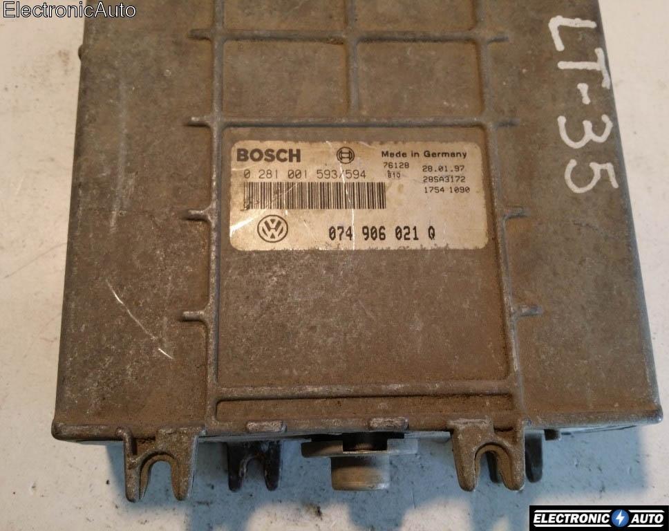ECU Calculator motor VW LT 2.5SDI 074906021Q 0281001593
