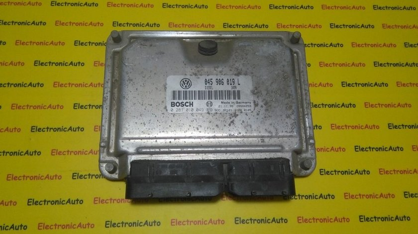 ECU Calculator motor VW Lupo 1.4TDI 0281010049, 045906019L