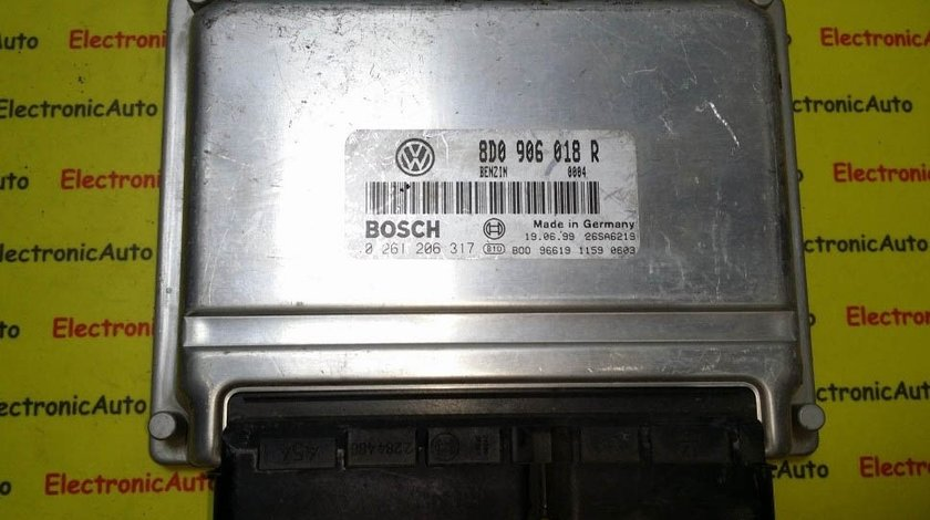 ECU Calculator motor VW Passat 1.8 0261206317