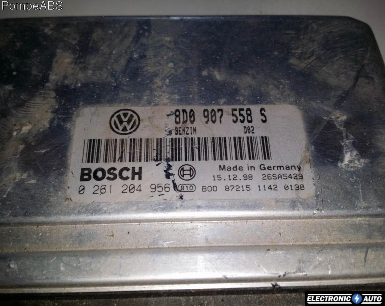 ECU Calculator motor VW Passat 1.8T 0261204956 M3.8.4 ADR