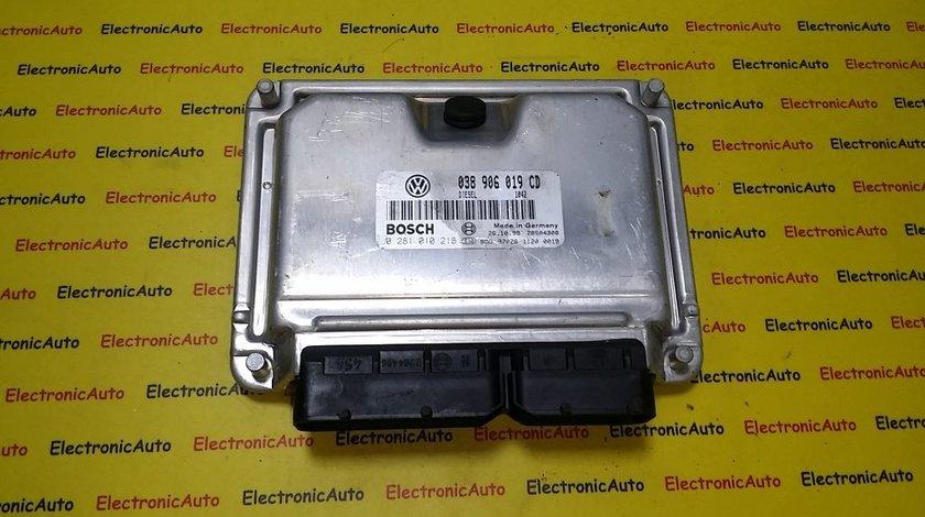 ECU Calculator motor VW Passat 1.9 tdi 0281010218, 038906019CD