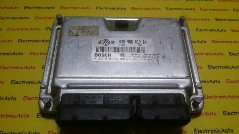 ECU Calculator motor VW Passat 1.9 tdi 0281010305, 038906019BK