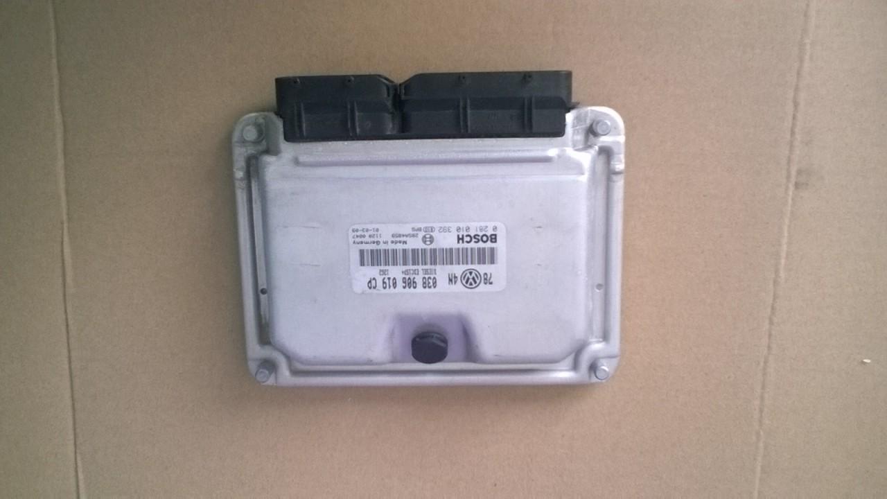 ECU calculator motor VW Passat 1.9 tdi DIESEL AVB 101cp cod 038906019 CP