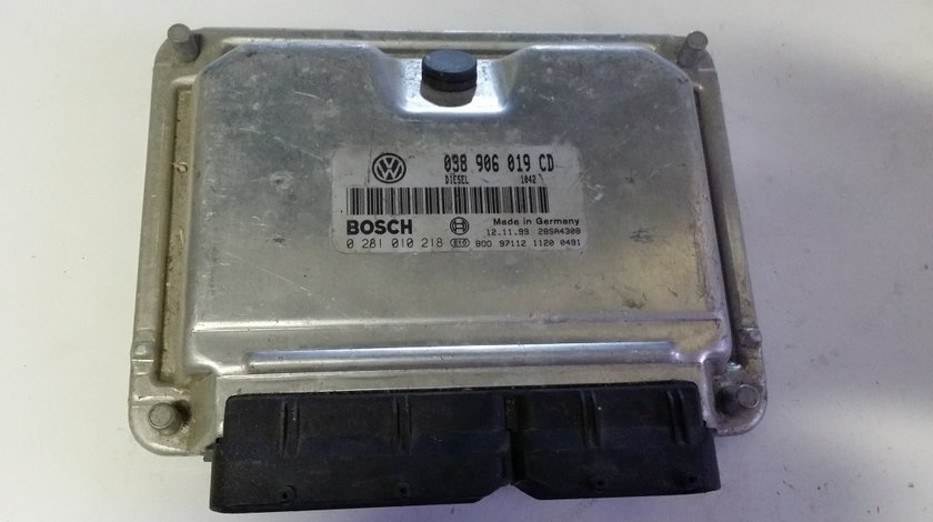 ECU Calculator motor VW Passat 1.9TDI 0281010218