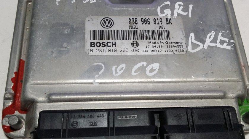 ECU Calculator motor VW Passat 1.9TDI 0281010305
