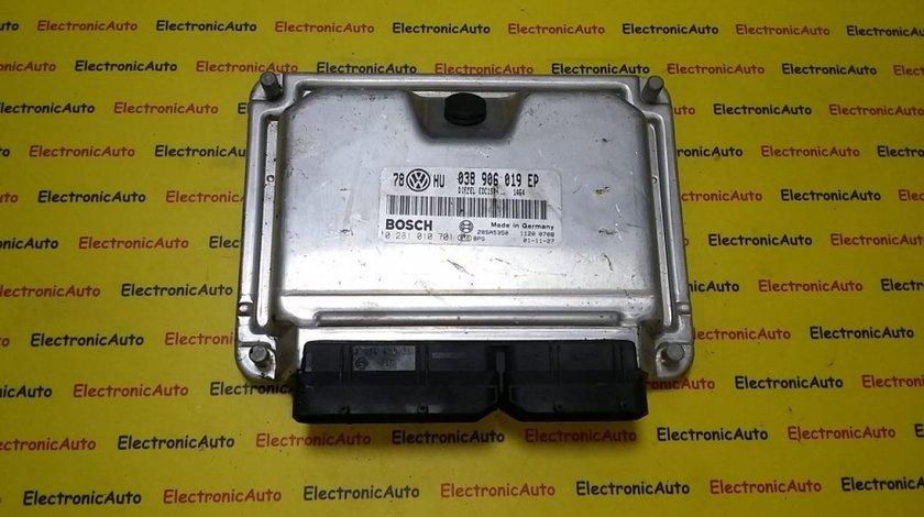 ECU Calculator motor VW Passat 1.9TDI 0281010701, 038906019EP