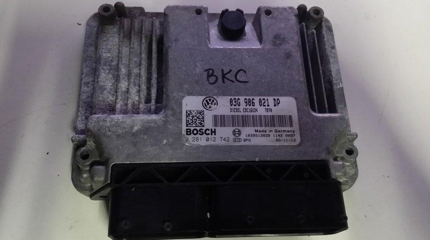 ECU Calculator motor VW Passat 1.9TDI 0281012742 BKC