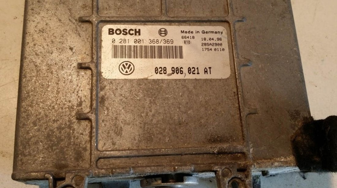 ECU Calculator motor VW Passat 1.9TDI 028906021AT 0281001368/369