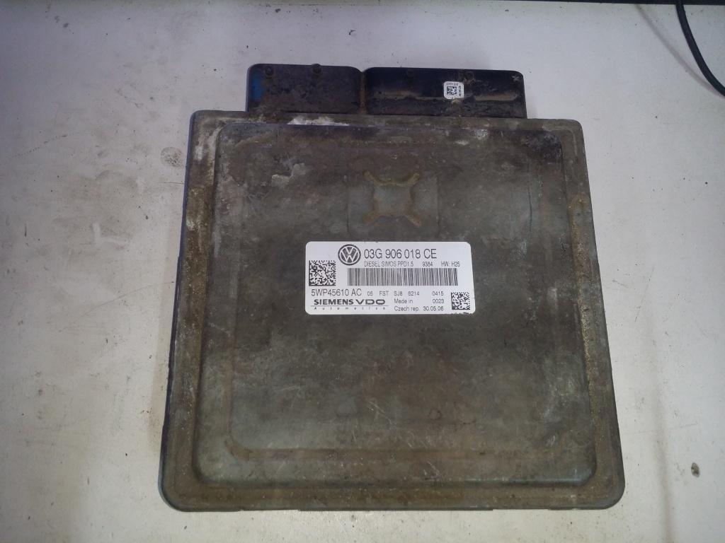 ECU Calculator motor VW Passat 2.0TDI 5WP45610 AC 03G906018CE