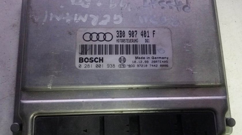 ECU Calculator motor VW Passat 2.5 tdi 0281001938