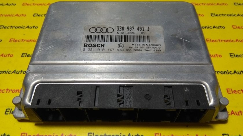 ECU Calculator motor VW Passat 2.5 tdi 0281010147, 3B0907401J