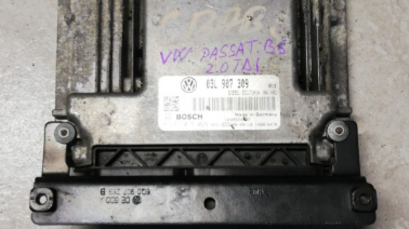 ECU calculator motor VW Passat B6 2.0 TDI cod 0281015029