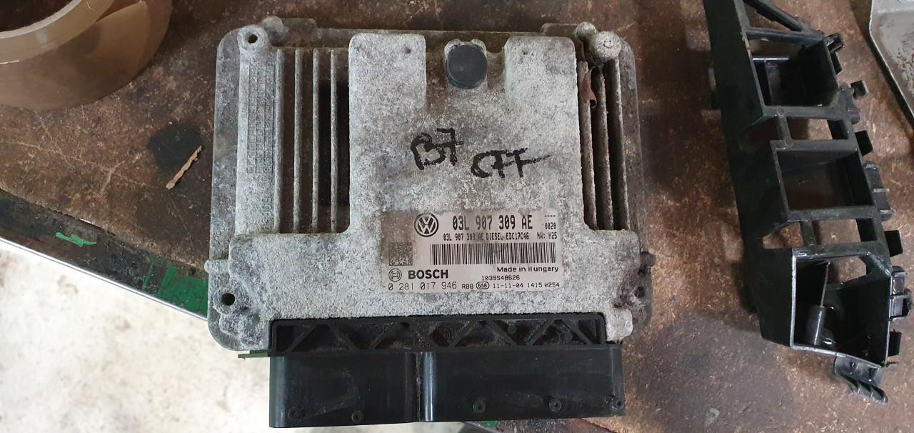 Ecu calculator motor Vw Passat B7 2.0 TDI CFF 2011 2012 2013 2014