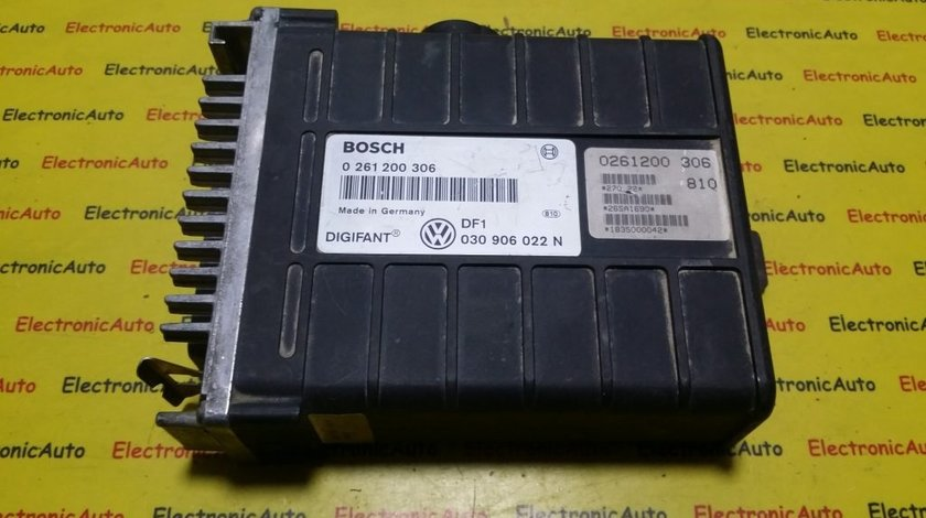 ECU Calculator motor Vw Polo 0261200306, 030906022N