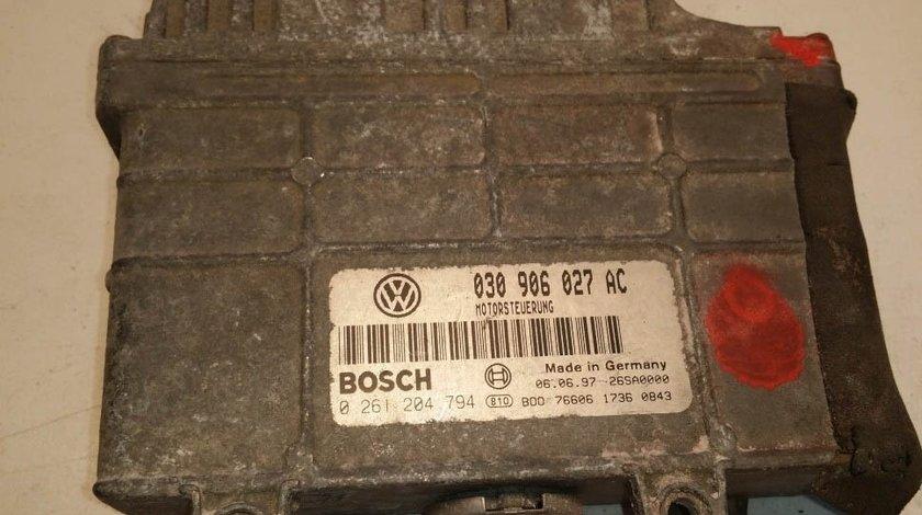 ECU Calculator motor VW Polo 1, 4 030906027AC 0261204794
