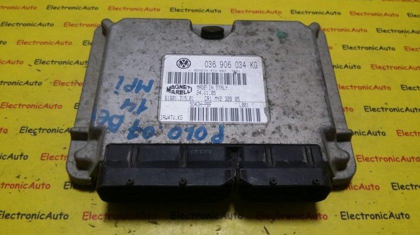 ECU Calculator motor VW Polo 1.4 036906034KG, IAW4TVKG