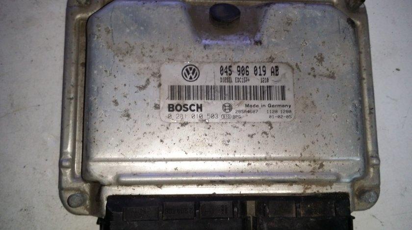 ECU Calculator motor VW Polo 1.4TDI 0281010503 045906019AB