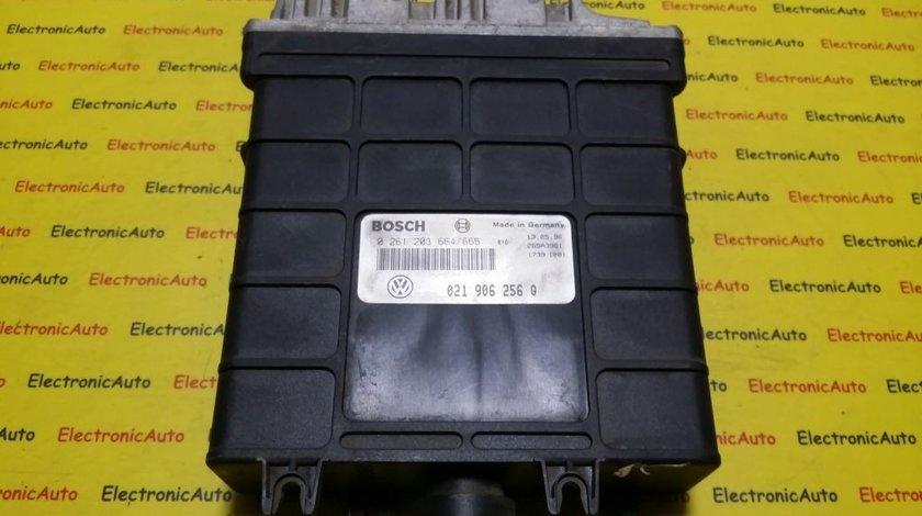 ECU Calculator motor VW Sharan 2.8 0261203664, 021906256Q
