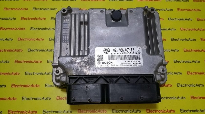 ECU Calculator motor VW Tiguan 2.0TSI 0261S07746, 06J906027FB
