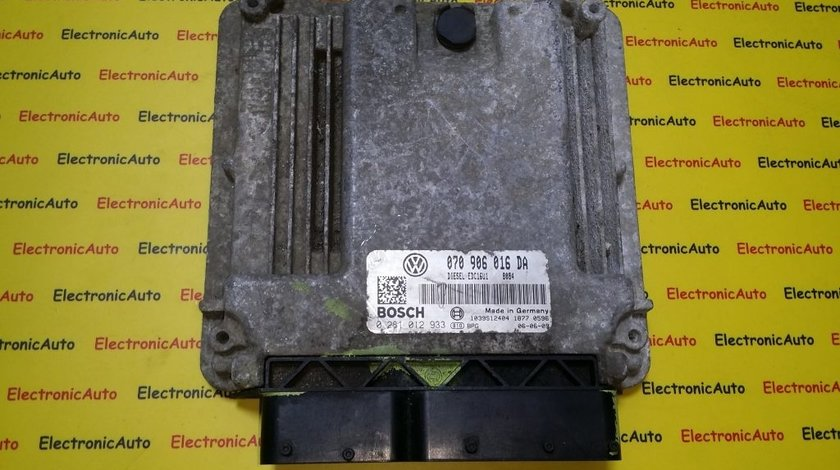 ECU Calculator motor VW Touareg 2.5TDI 0281012933, 070906016DA, motor BAC