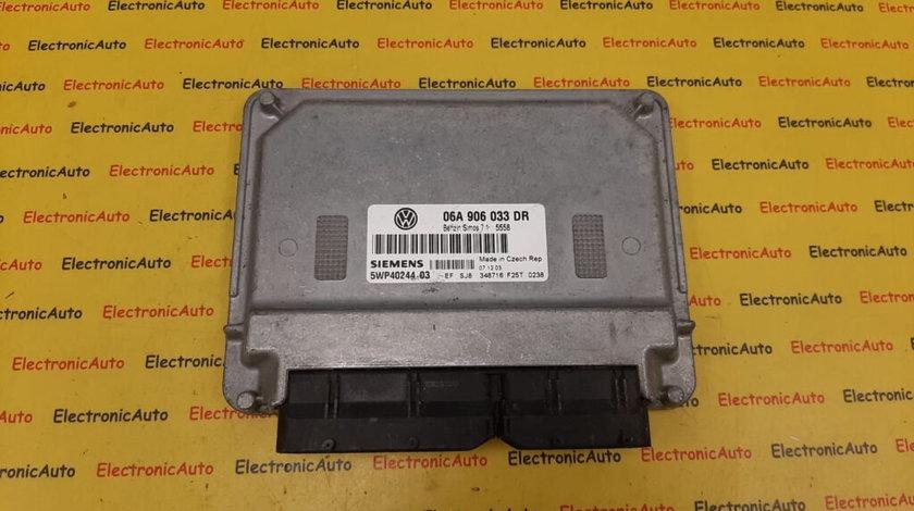 ECU Calculator motor VW Touran 06A906033DR, 5WP4024403