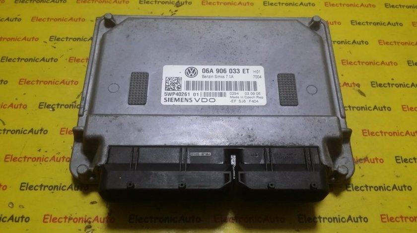 ECU Calculator motor VW Touran 1.6 06A906033ET, 5WP4026101