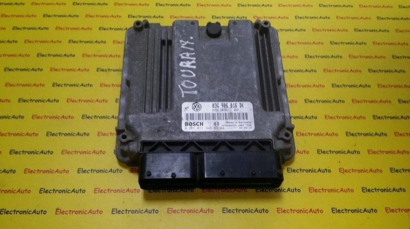 ECU Calculator motor VW Touran 1.9 tdi 0281011946, 03G906016DK
