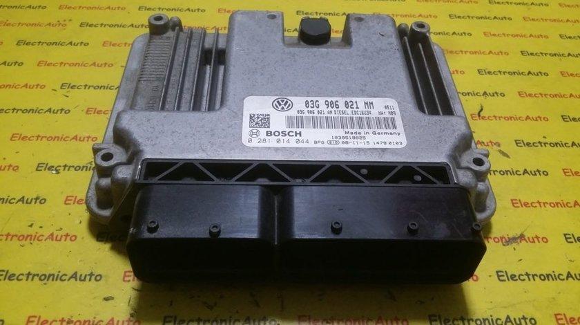 ECU Calculator motor VW Touran 1.9TDI 0281014044, 03G906021MM