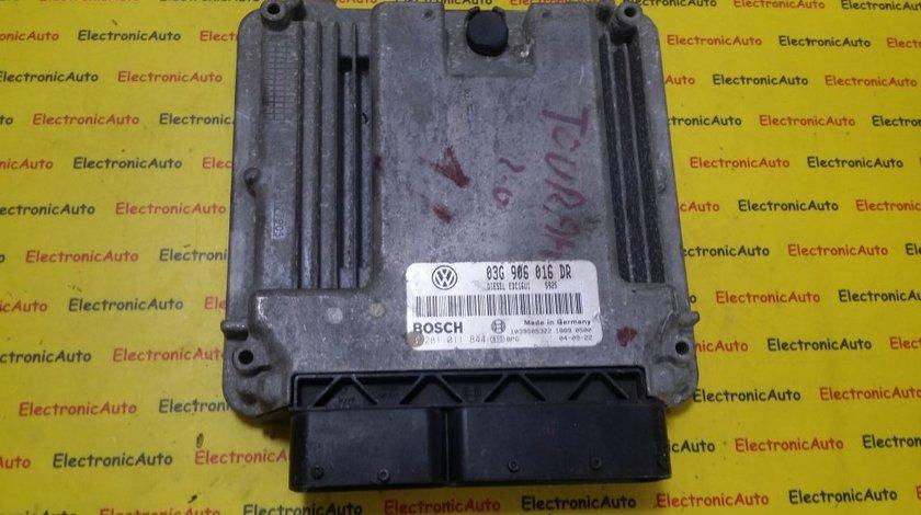 ECU Calculator motor VW Touran 2.0TDI 0281011844, 03G906016DR