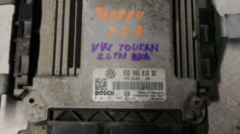 ECU Calculator motor VW Touran 2.0TDI COD 0281011906