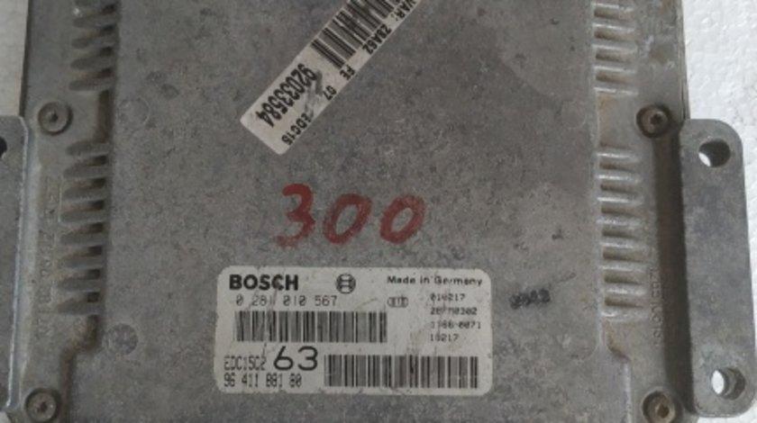 ECU calculator Peugeot 607 2.2 HDI cod 0281010567