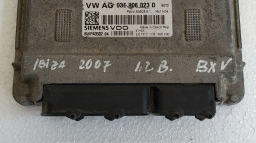 ECU calculator Seat Ibiza 2007 1.2 benzina BXV cod 03E906023D