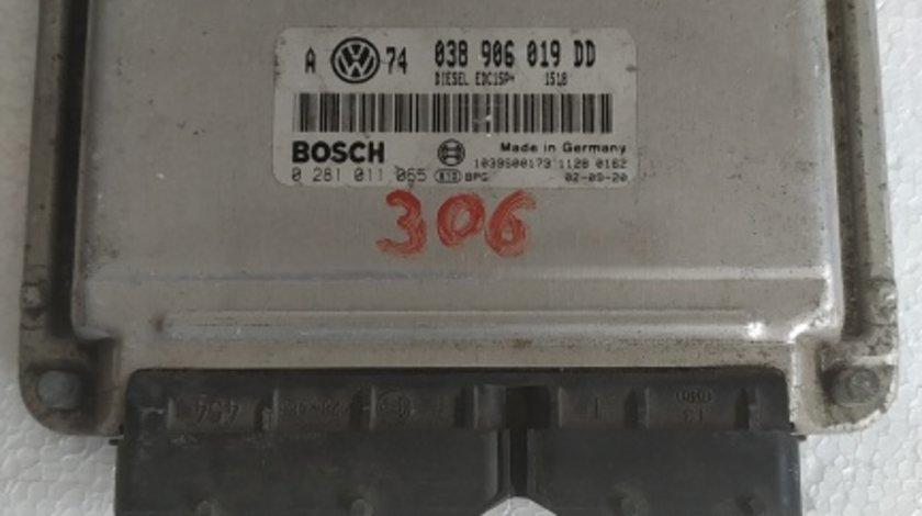 Ecu calculator VW Golf 4 1.9 TDI cod 038 906 019 DD