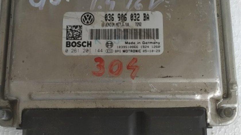 ECU calculator VW Golf 5 1.4 16 v benzina cod 036906032 BA
