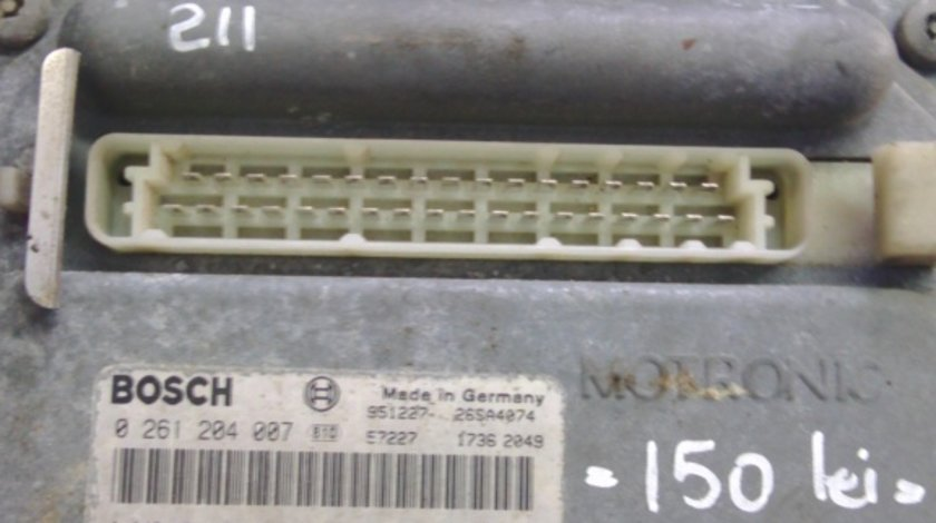 ECU Motor Fiat Bravo 1.4 cod bosch 0261204007