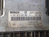 Ecu motor Renault Megane 2 1.9 DCI 0281013907 8200705747